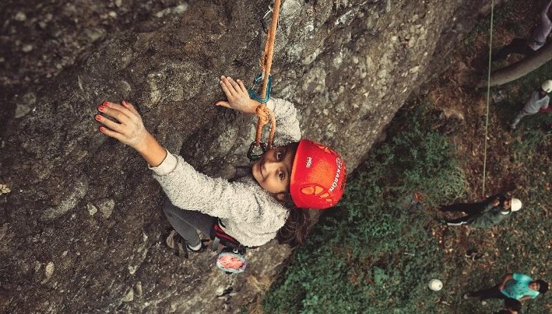 climbing for a reason