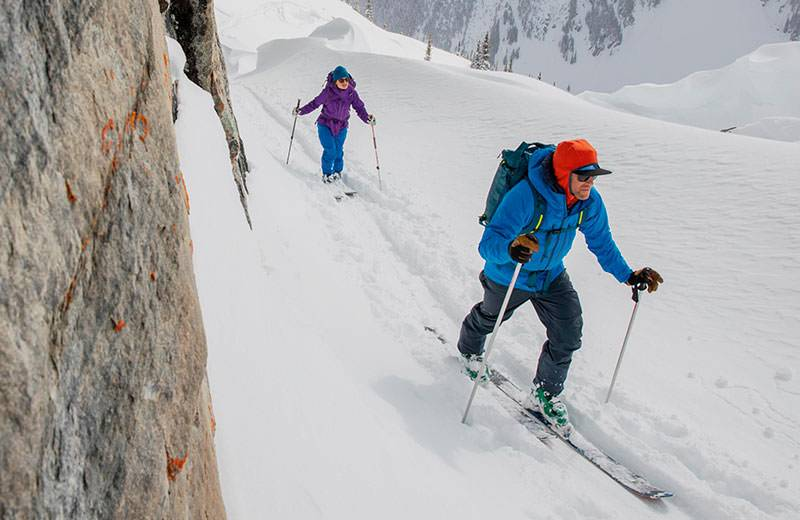 backcountry touring patagonia